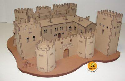 Puzzle 3D Castelo de Óbidos