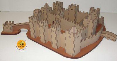 Puzzle 3D Castelo de S. Jorge