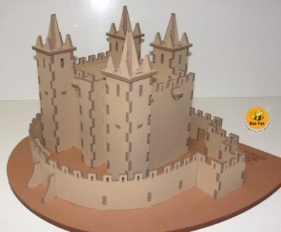 Puzzle 3D Castelo de Santa Maria da Feira