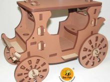 Puzzle 3D Coche Real de Gala