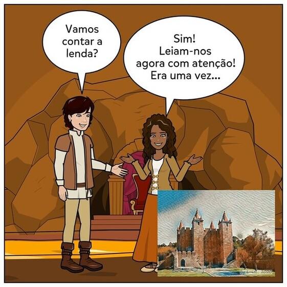 Lenda do Castelo de Santa Maria da Feira